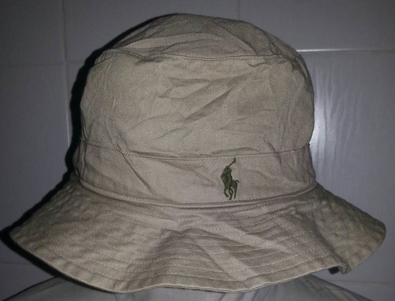 Vintage polo ralph lauren riversible bucket fishing by for Polo fishing hat