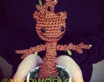Amigurumi Handmade Baby Groot