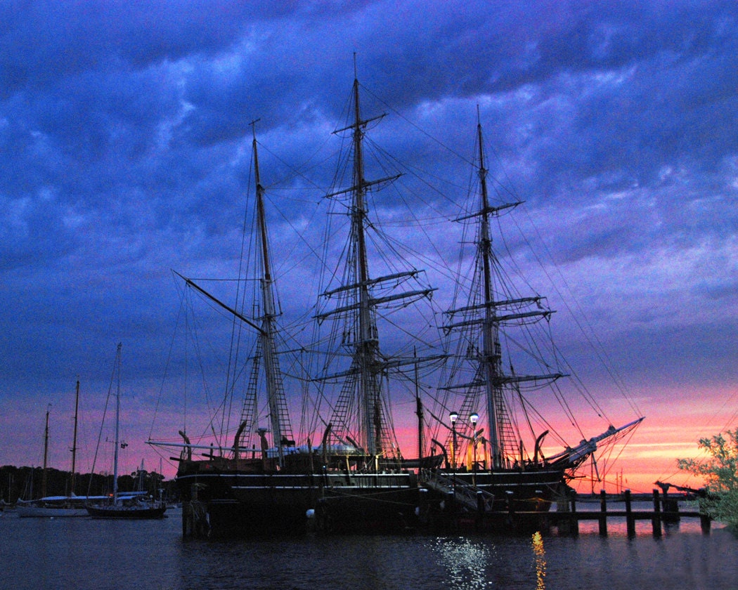 Uss Constitution Fine Art Photography Wall Photo Print Old