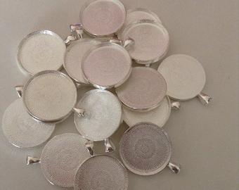 30mm shiny Silver Bezel