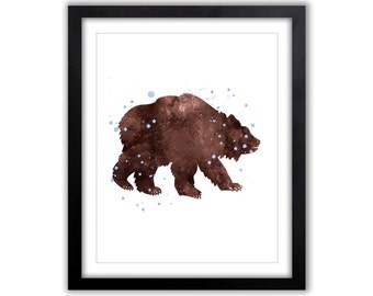 Art For The Home - Watercolor Art - Animal Watercolor - Giclee Art Print