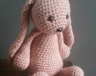 Crocheted Bunny Amigurumi