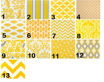 Yellow Window Valances-Window Treatments-You Choose Your Size and Pattern
