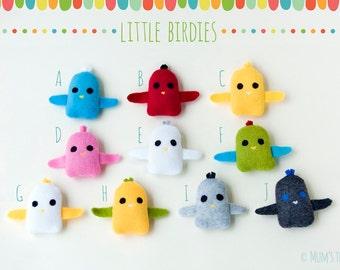 Little bird plush toy—extra little bird stuffed animals