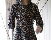 Handmade Hooded Girl's Dress 2t -5t