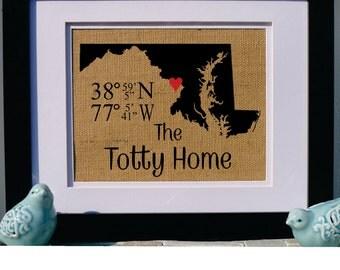 latitude longitude sign   gps coordinates by lake house ardara lake house artwork