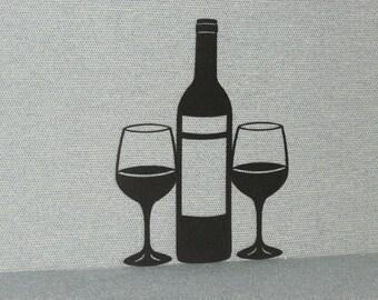 Wine Bottle Cutout Etsy