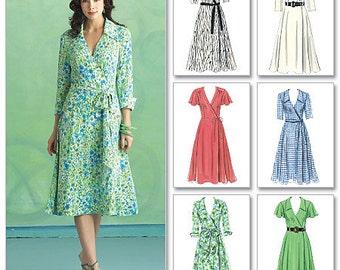 Butterick Pattern B5030 Misses' Dress, Belt and Sash