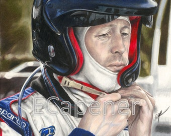McRae Drawing Limited Edition Fine Art Giclee Print