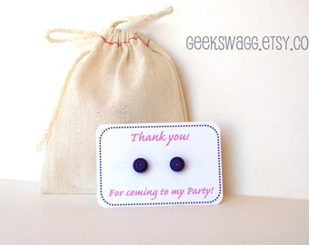 LEGO® Party favors, set of 15 LEGO® brick earrings, girl LEGO® party, friends party