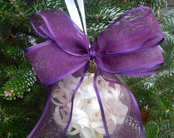Keepsake Wedding Invitation Ornament