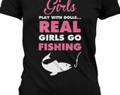 Funny Fishing Shirt Gifts For Fisherman Nerd T Shirt Geekery Ladies Joke Tee MD-61