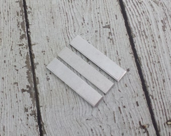 Aluminum Tag Blanks - 14 Gauge Rectangle Tags