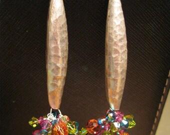 Sterling Silver Swarovski Cascade Earrings