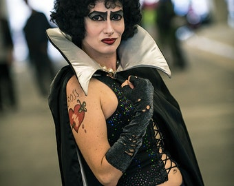 "Rocky Horror Picture Show Frank N Furter ""BOSS"" Temporary Tattoo"