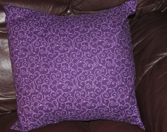 Decorative pillow, purple pillow, READY TO SHIP, throw pillow, cushion, bedroom  pillow, sofa pillow, Home Decor, Modern Pillow