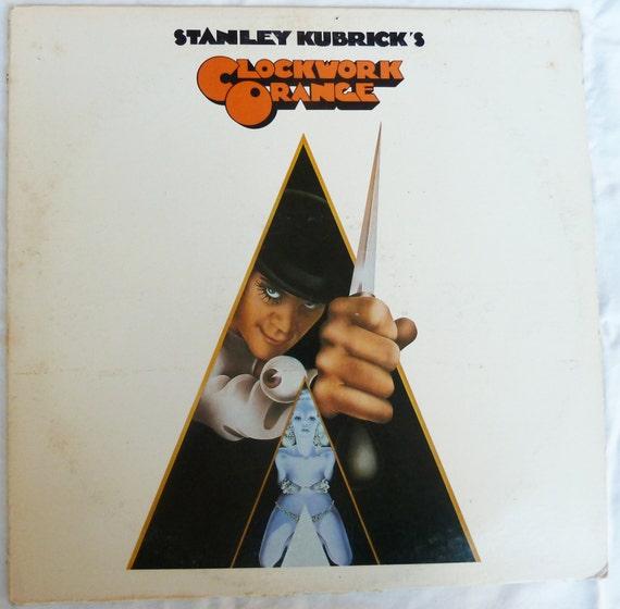 Clockwork Orange Soundtrack LP Vintage Seventies Stanley Kubrick