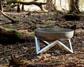 Steel Fire Pit YANARTAS (Small) - Contemporary Design