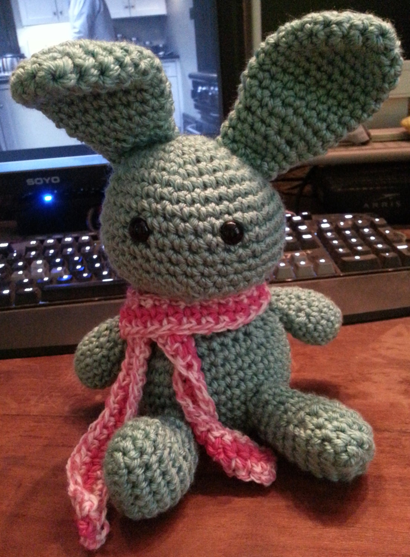 Amigurumi Bunny Ears : Bunny amigurumi