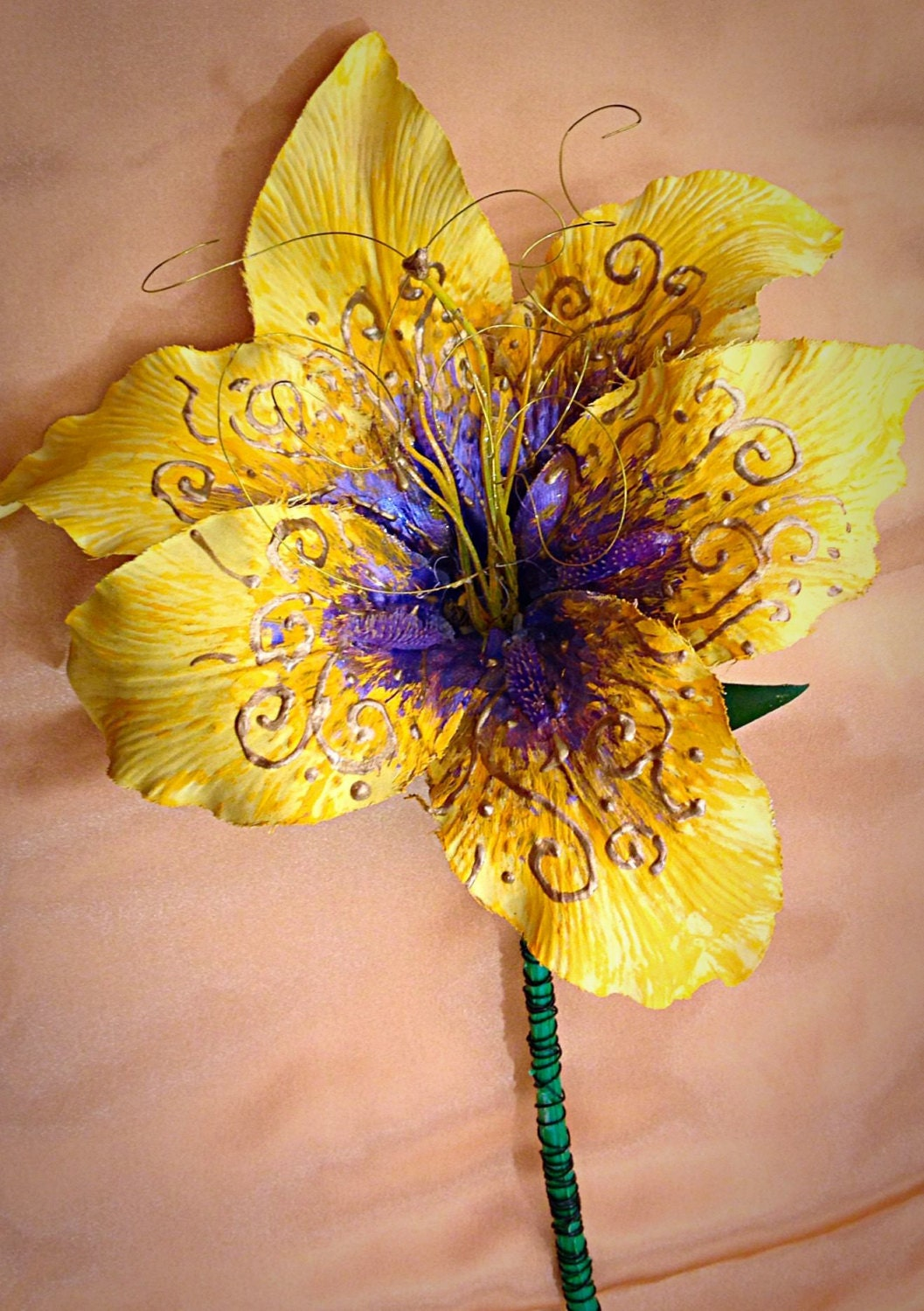 Handmade Rapunzel Flower From Tangled That Glows