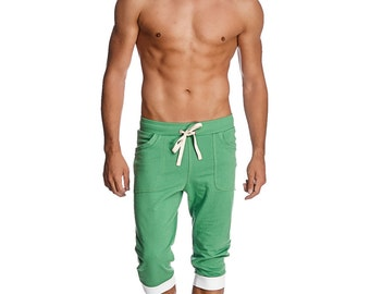 Mens Cuffed Yoga Pants