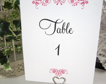 Vintage Wedding Table Name Cards / table number cards / rustic / shabby chic wedding / wedding breakfast / personalised / many colours