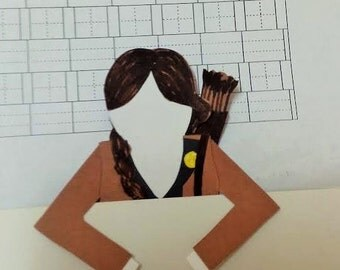 Hunger Games Inspired Katniss Everdeen Bookmark Buddy