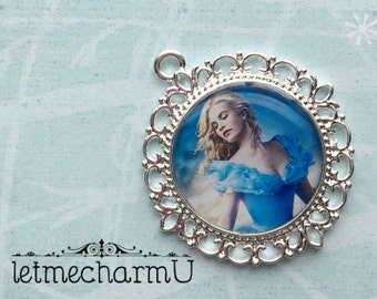 Disney Princess Cinderella Pendant - Cinderella Pendant - Disney Princess Cinderella Necklace - Cinderella New Movie