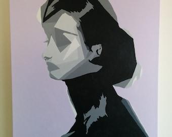 Lavender Audrey Painting
