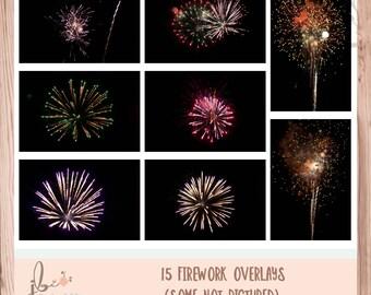 15 Firework Overlays