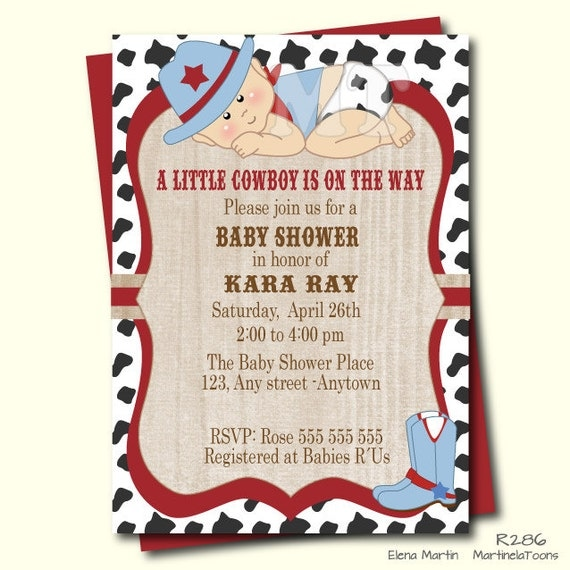 cowboy baby shower invitation western baby shower invite cowboy