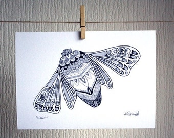 Insect - A4 Unframed Inkjet Print