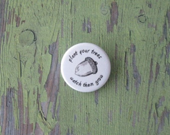 Bilbo and Thorin BotFA Acorn Pinback Button