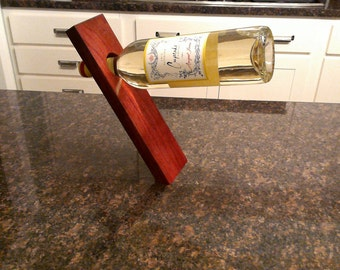 Floating Wine Holder-Cherry