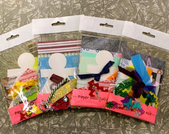 Paper Doll Collage Kit