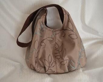 Cannes Medium Size Hobo Shoulder Bag