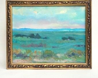 Blue Horizon Oil Painting by Paul Casebeer