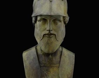 Ajax King of Salamis Bronze Bust