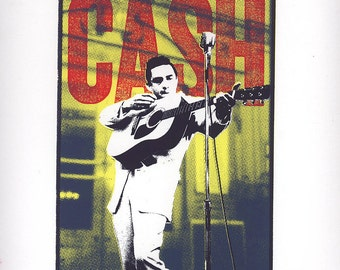 Johnny Cash 4 color screenprint (1/12)