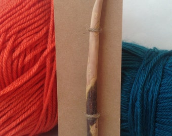 Wood Crochet Hook, Size L (8mm), Pioneer Style