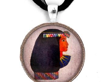 Isis Egyptian Goddess Handmade Jewelry Necklace Pendant