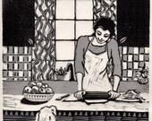 Making Pie in the Kitchen...