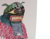CARD Dragon mask