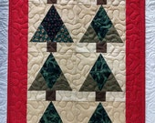 eight little trees quilt