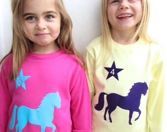 Kids Horse T shirt