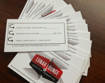 GIFT CARD - last minute shopping / hard to buy for any denomination