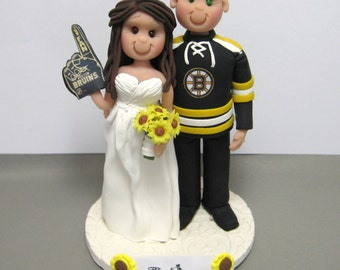 DEPOSIT for a Customized Sports Team Jersey Wedding Cake Topper decoration