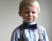 KNITTING PATTERN PDF File - Pattern for Boys Bow Tie - Knitting Pattern for Boys Bow tie - Adjustable Knit Bow Tie Pattern - Knit Pattern