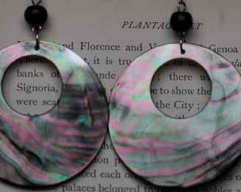 Venus Genuine Abalone Earrings