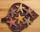 Primitive Fall Leaf Star Bowl Filler Ornament Decorations